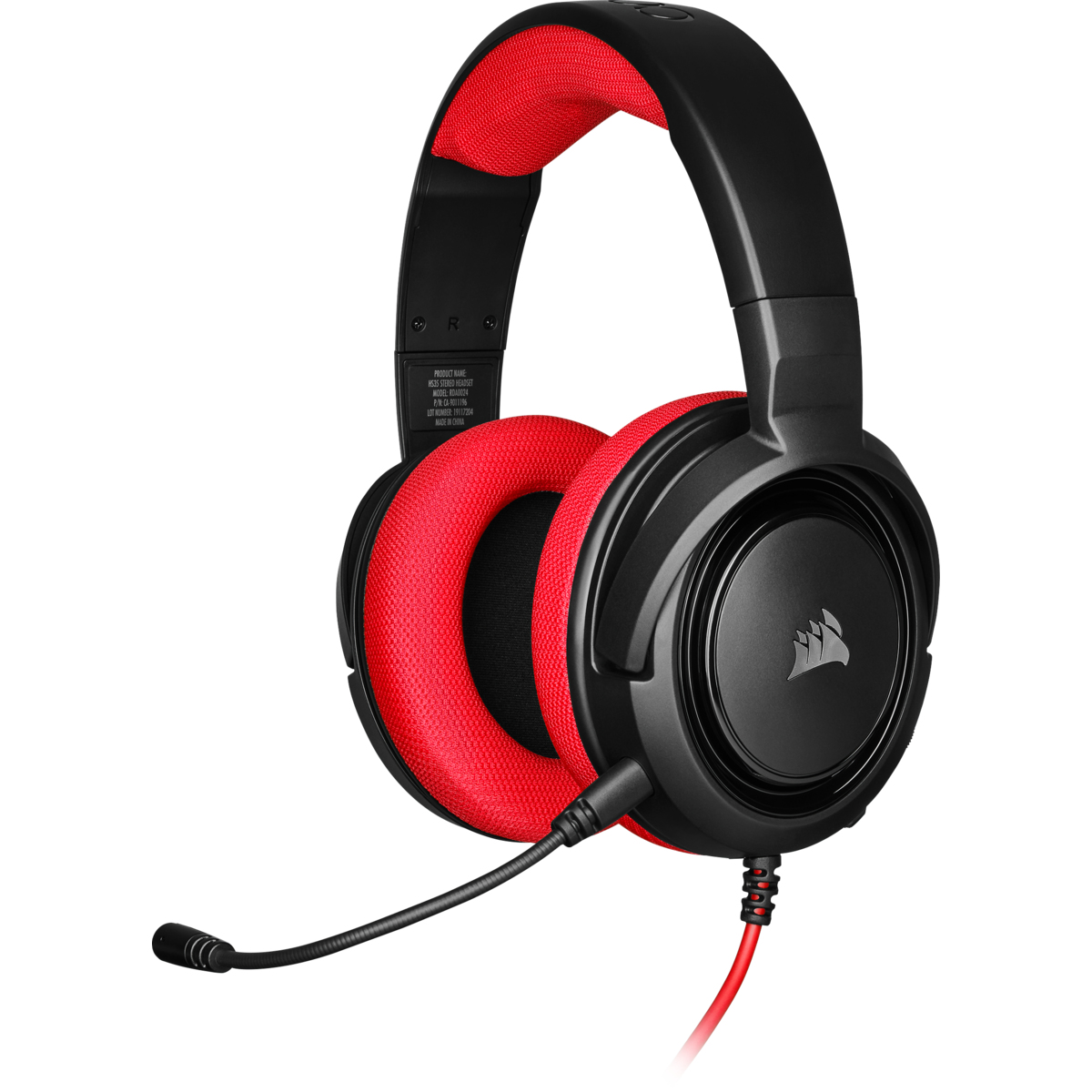 Corsair HS35 Red Gaming Headset