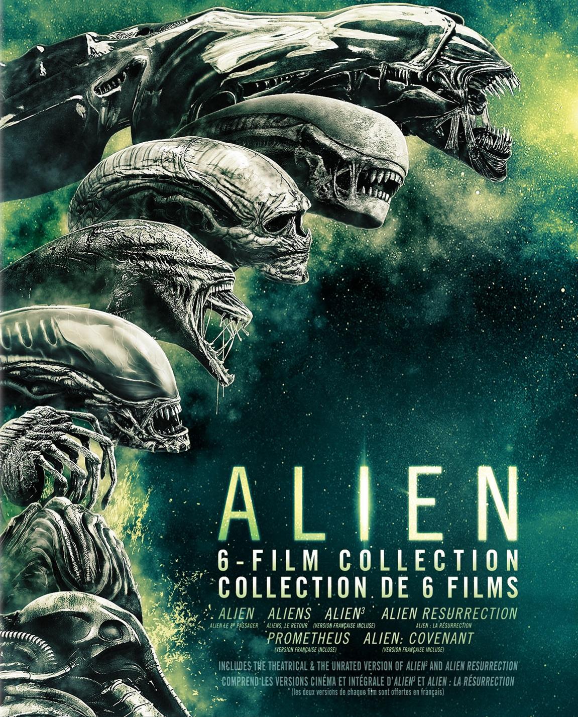 Alien 6-Film Collection [6 Disc Set]