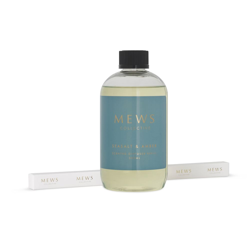 Mews Collective Seasalt & Amber Diffuser Refill