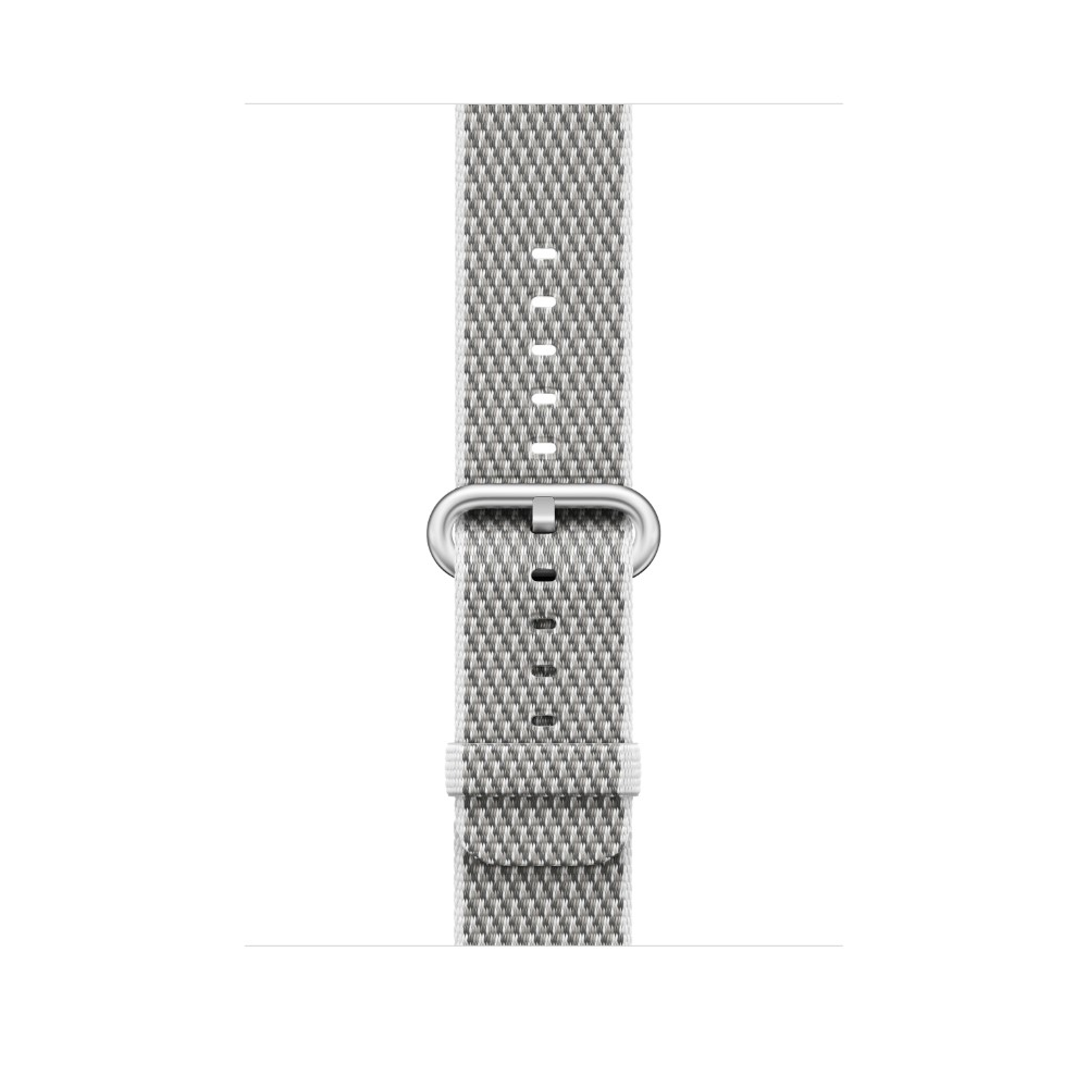 Apple White Check Woven Nylon for Apple Watch 42mm