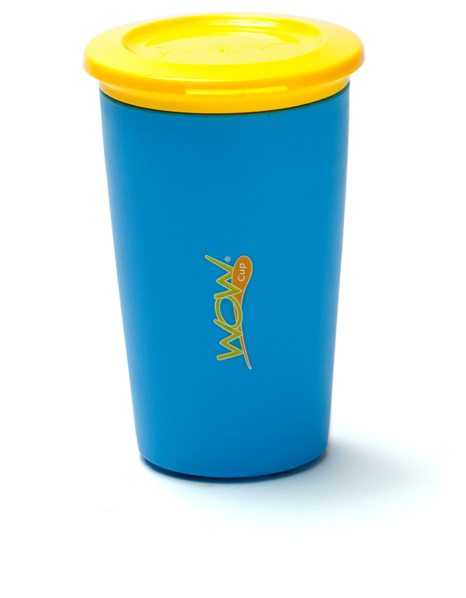 Wow Gear Wow Cup For Kids Blue Cup / Yellow Lid 266 ml