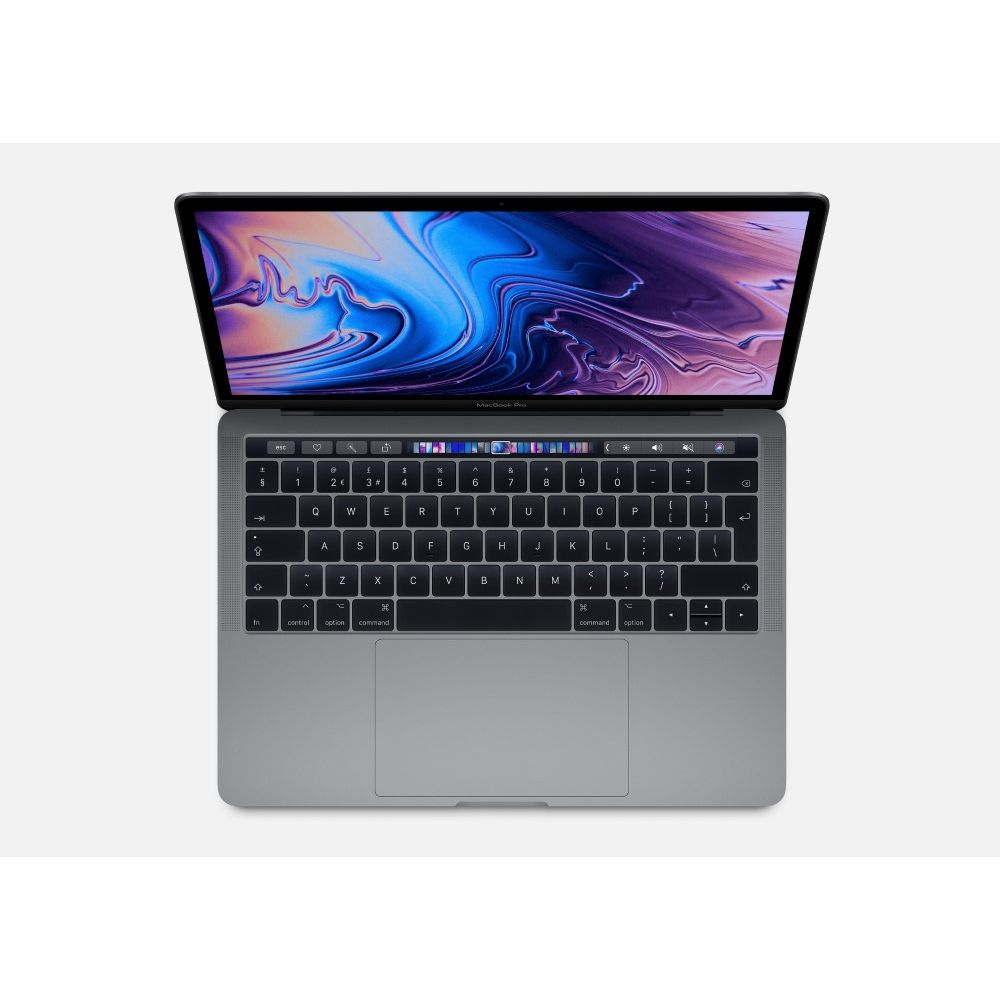Apple MacBook Pro 13-inch with Touch Bar Space Grey 2.4GHz Quad-Core 8th-Generation Intel-Core i5/512GB Arabic/English