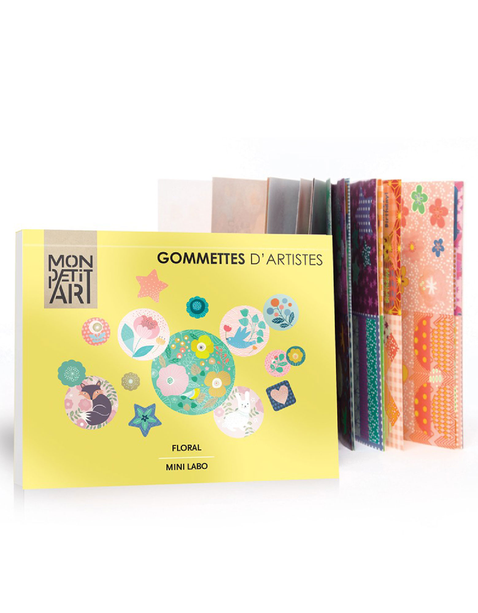 Mon Petit Art Floral: Artists Stickers