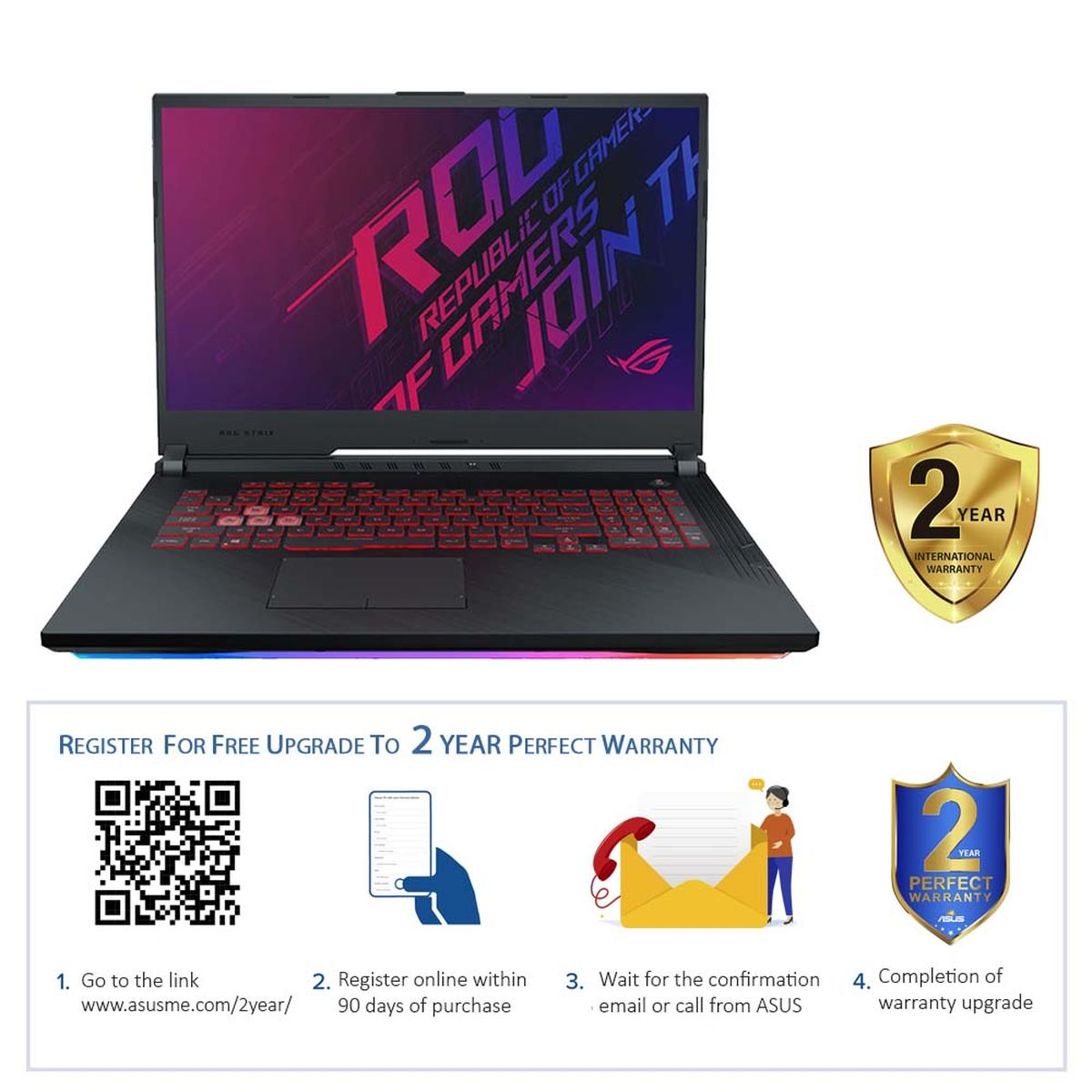Asus G731GU-EV089T ROG STRIX G i7-9750H/16GB/1TB HDD+256GB SSD/GeForce GTX 1660TI 6GB/17.3 Inch FHD/144Hz/Windows 10
