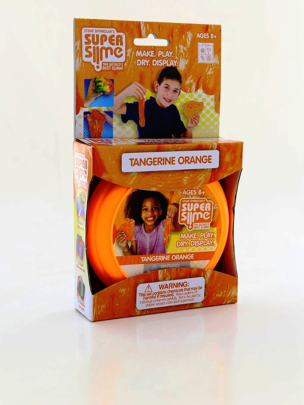 Be Amazing Toys Tangerine Orange Super Slime Box