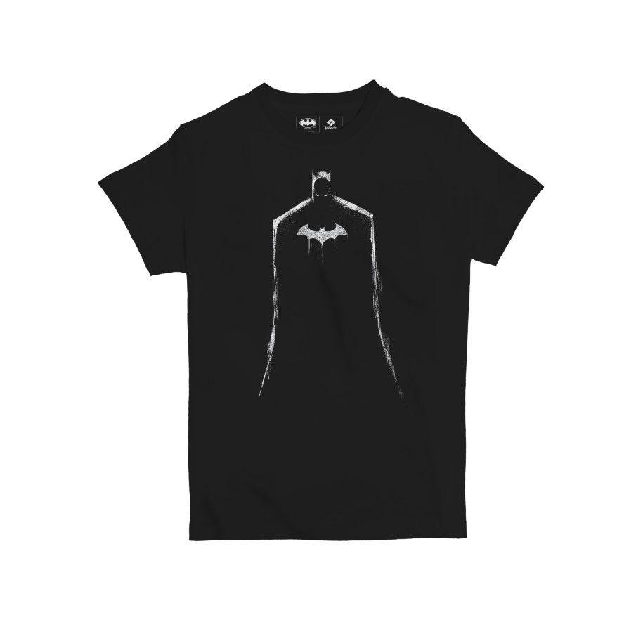 Dc Comics Batman Cape Kids' T-Shirt Black 14