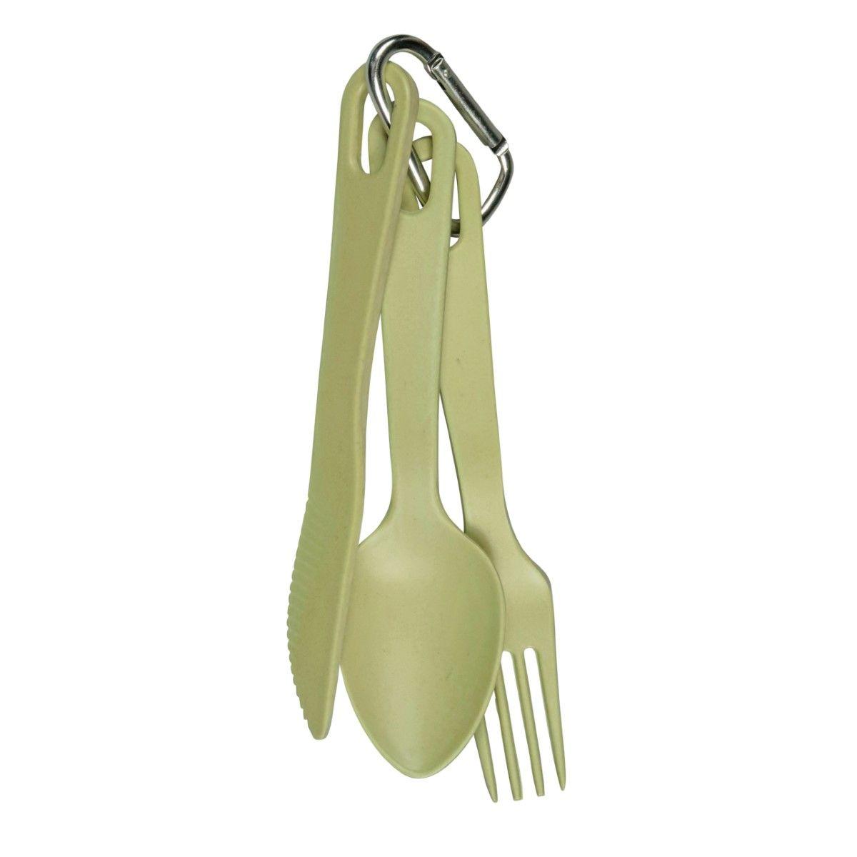 Capventure Take 3 Cutlery Set Willow Green [Set of 3]