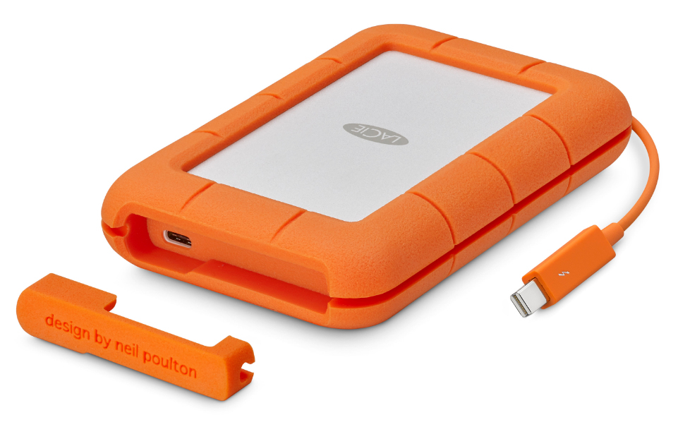 Lacie Rugged 2TB Thunderbolt & USB-C Portable Drive