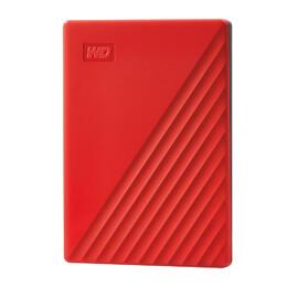 WD My Passport 2TB HDD Red