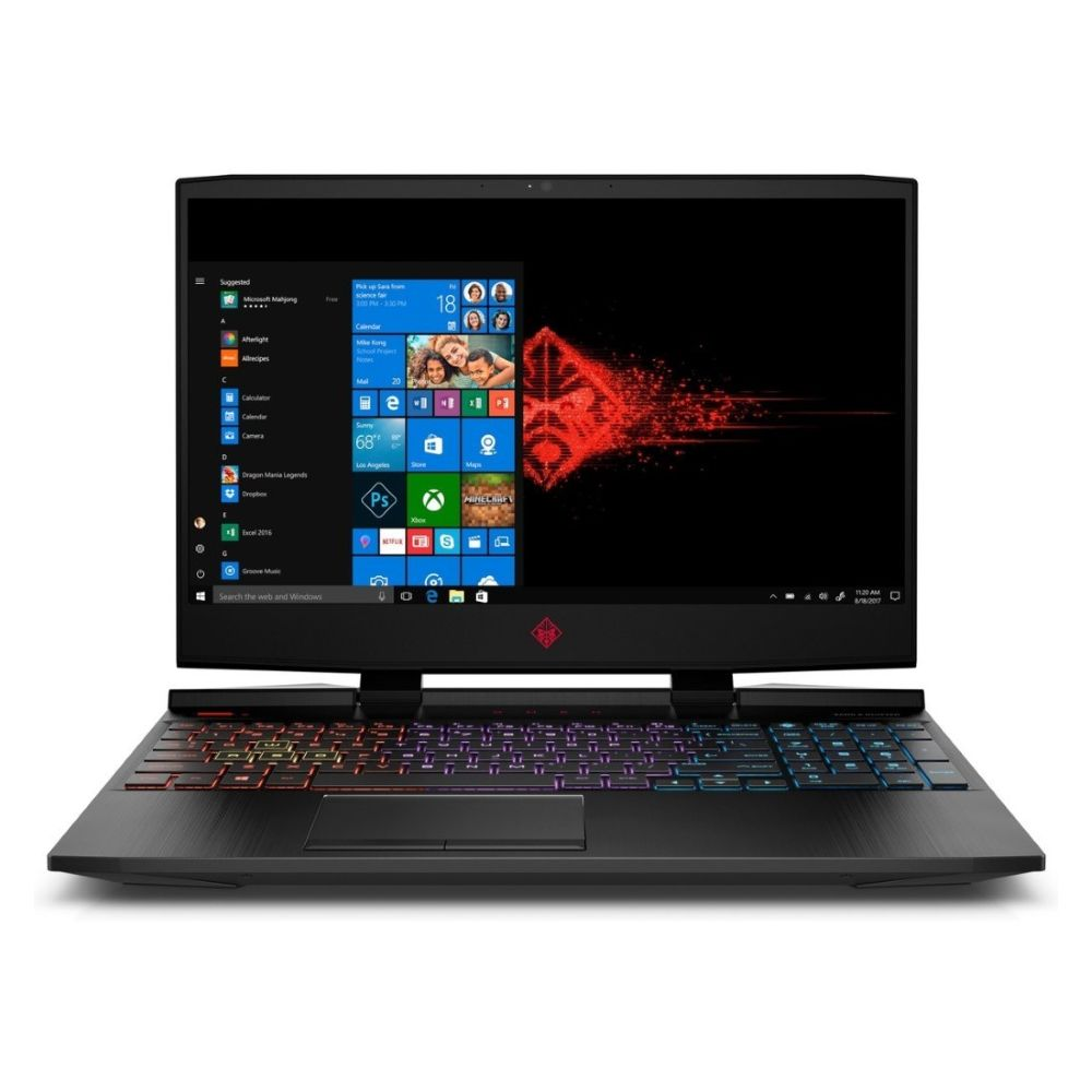 HP Omen 15-DC00014NE Intel Core i7-8750H 2.2Ghz/16GB/1TB+256GB/Nvidia GeForce GTX 1060 6 GB/15.6 Inch Windows 10 Home