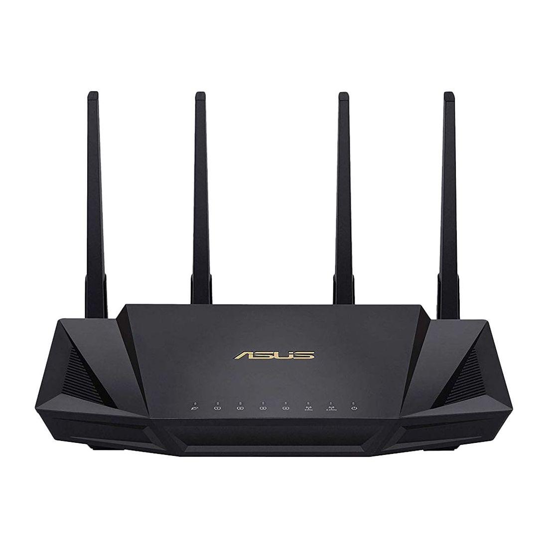 - ASUS RT-AX58U AX3000 Dual Band Wi-Fi 6 802.11AX Router