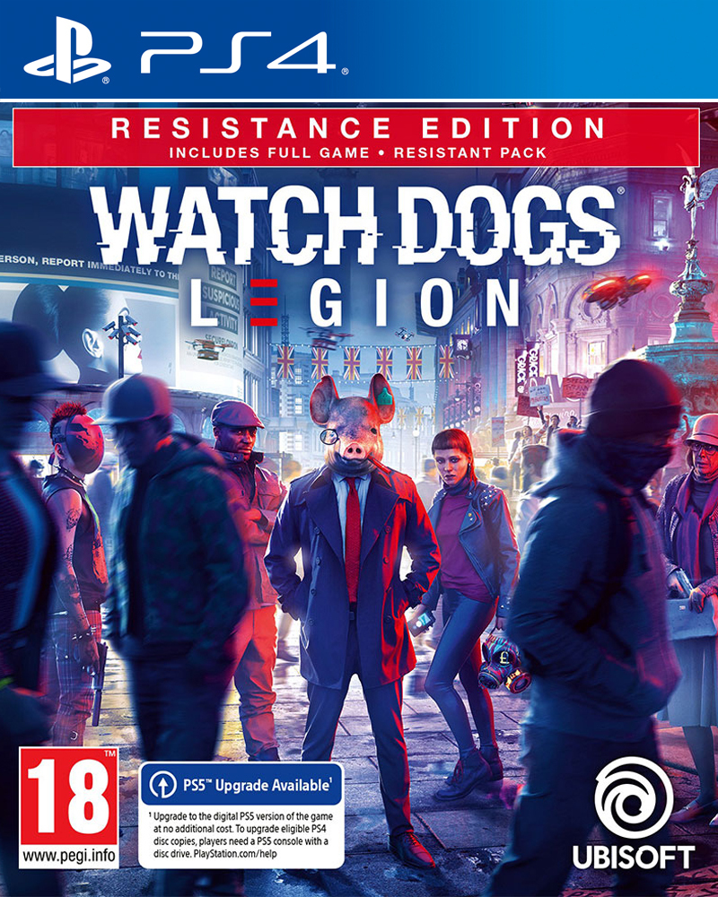 Watch Dogs Legion - Resistance Edition - PS4