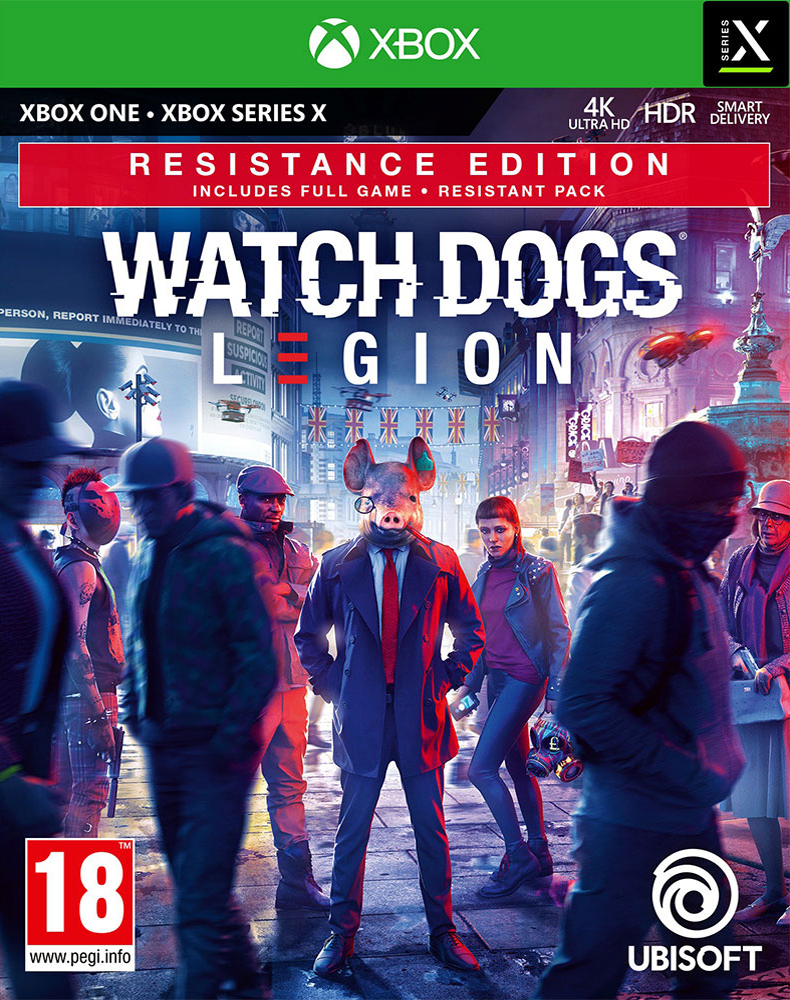Watch Dogs Legion - Resistance Edition - Xbox One