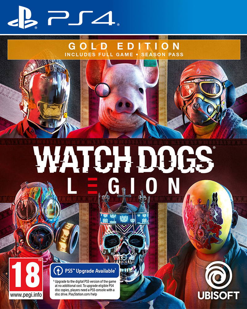 Watch Dogs Legion - Gold Edition - PS4