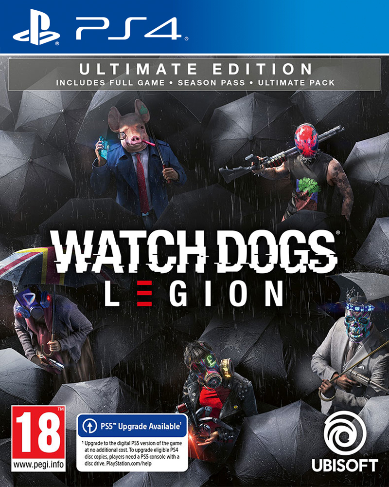 Watch Dogs Legion - Ultimate Edition - PS4