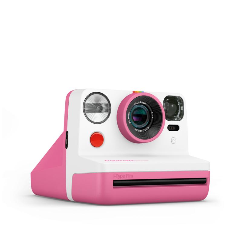 - Polaroid Now Pink I-Type Instant Camera