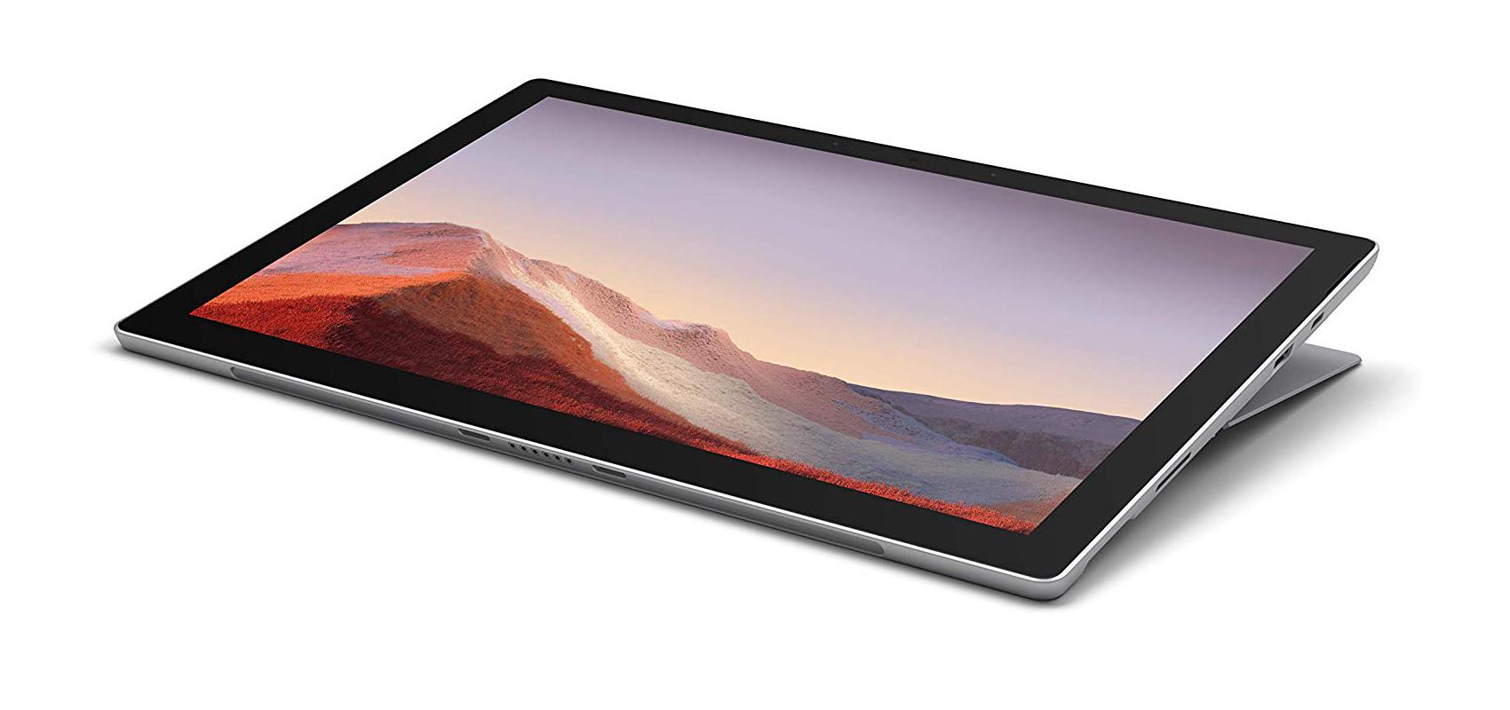 - Microsoft Surface Pro 7 i5 – 1035G48GB128GB SSDPlatinum + Black Cover