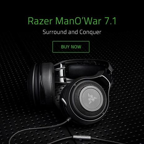 Razer ManO'War 7.1