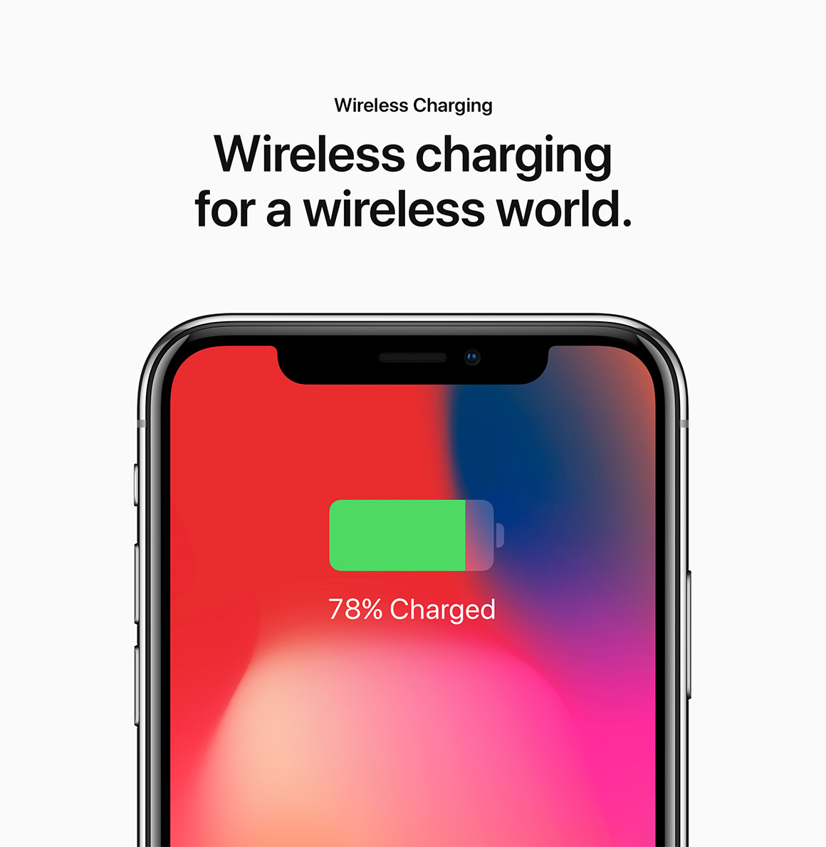 Wireless charging for a wireless world.