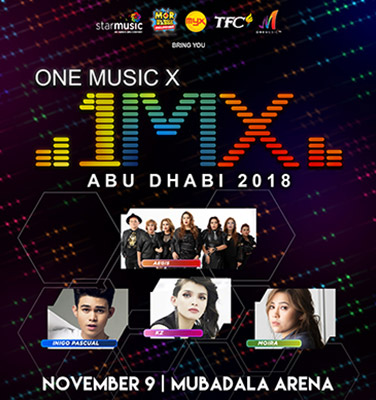 One Music X Abu Dhabi 2018