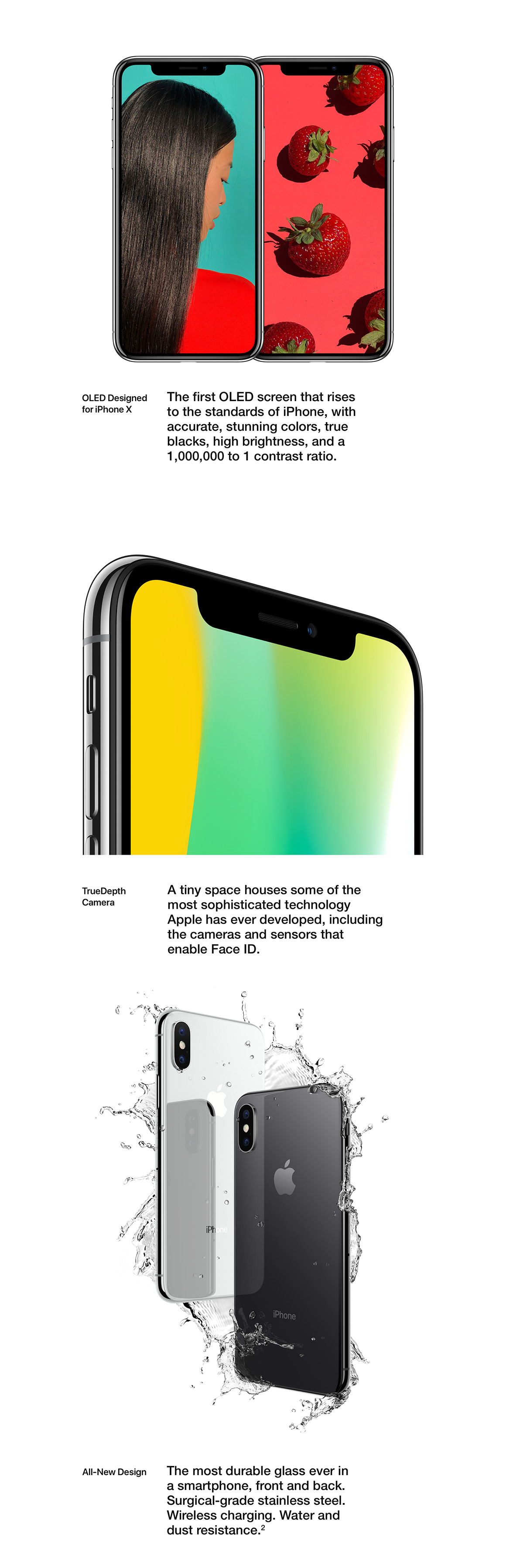 OLED Designed for iPhone X