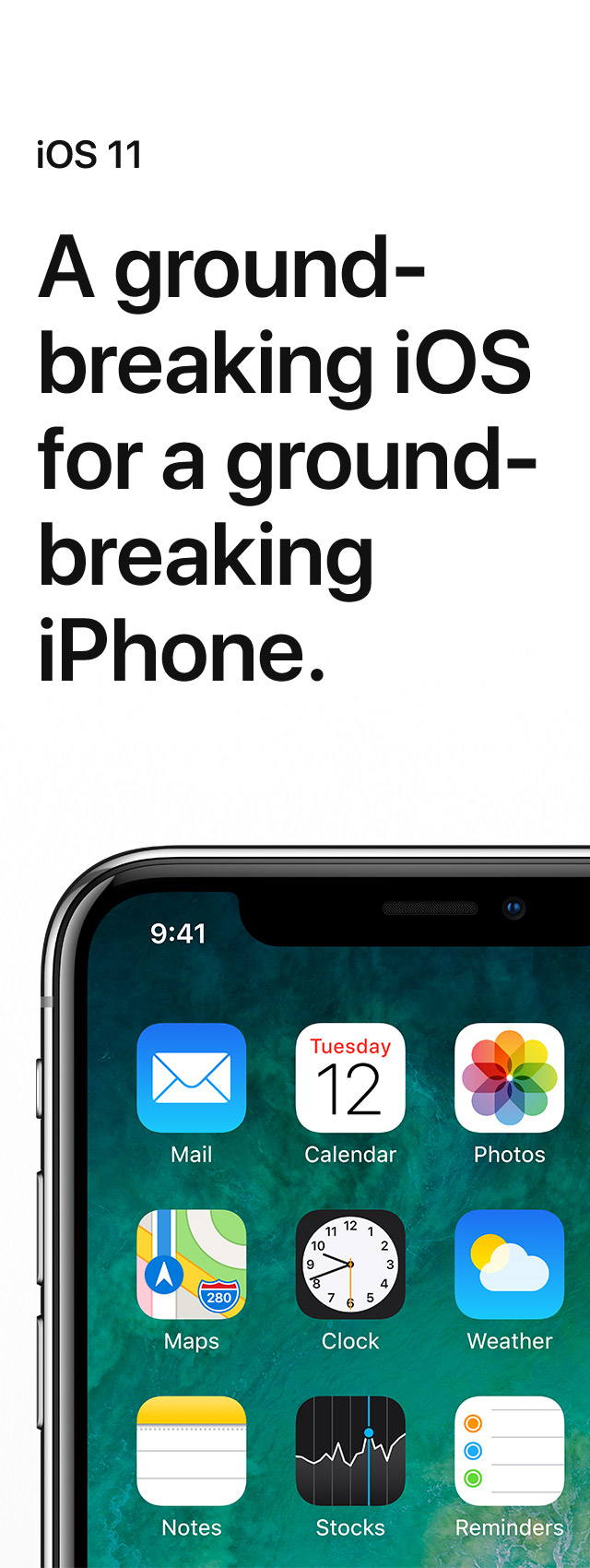 A groundbreaking iOS for a groundbreaking iPhone.
