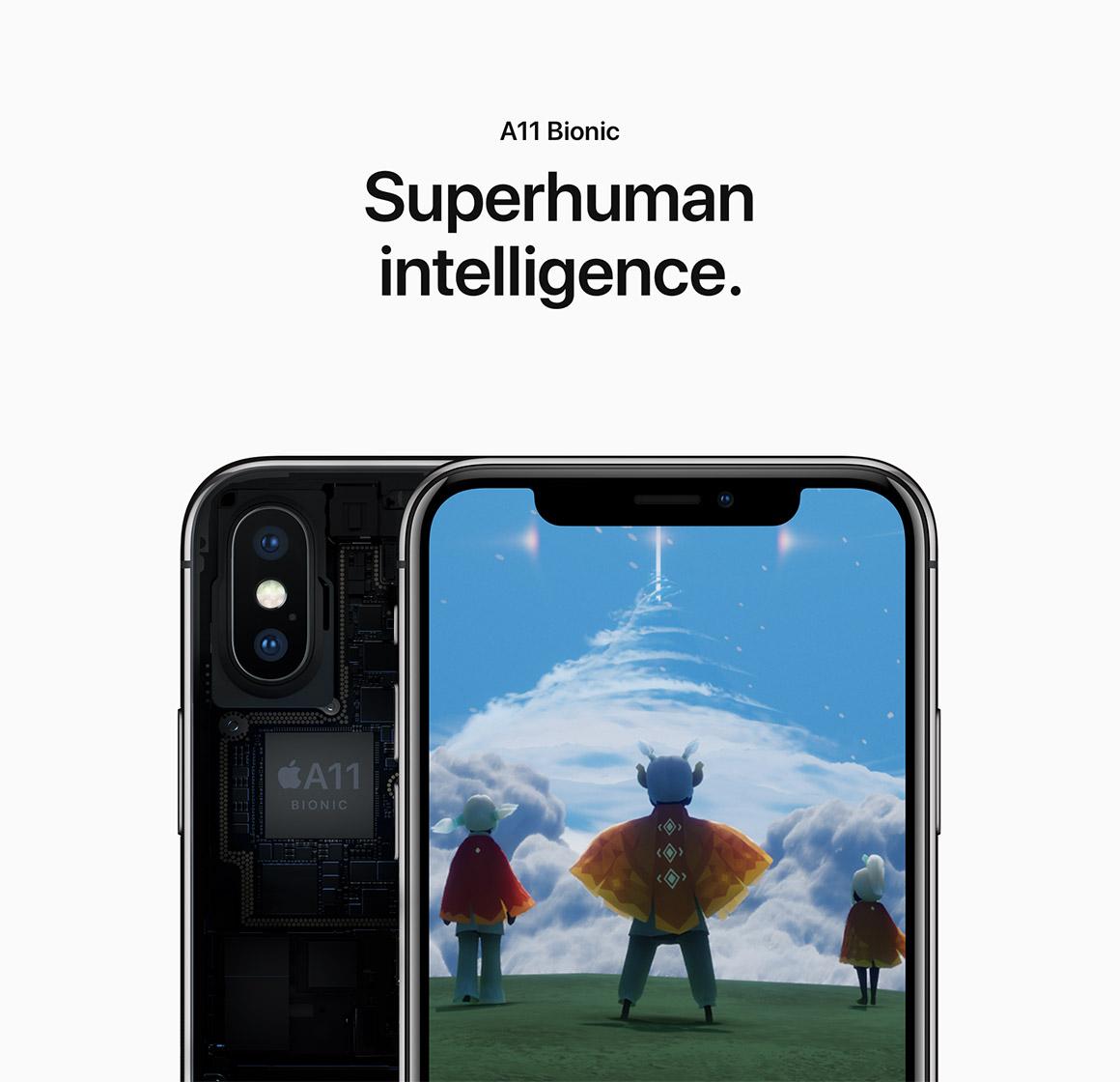 Superhuman intelligence.