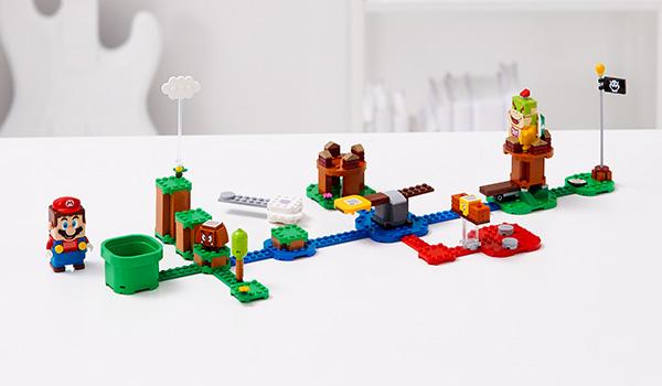 Meet LEGO Mario!