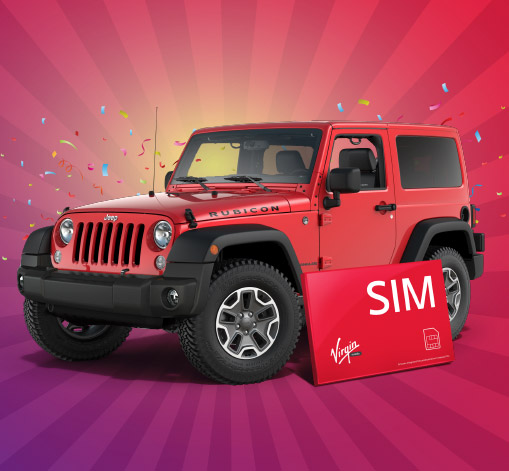 TEST DRIVE VIRGIN MOBILE AND WIN!
