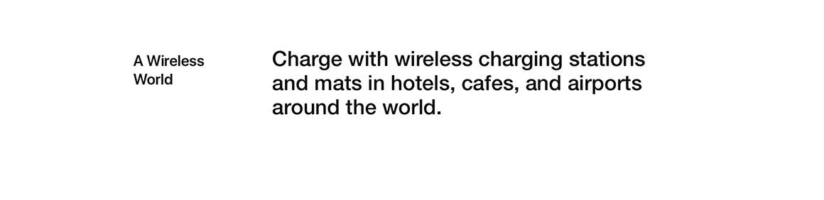 A Wireless World