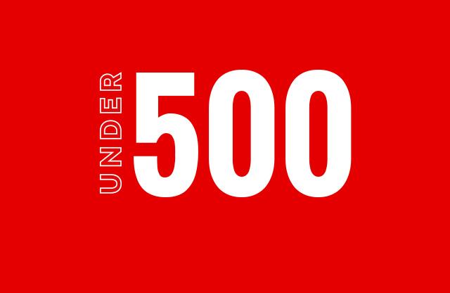 Under 500