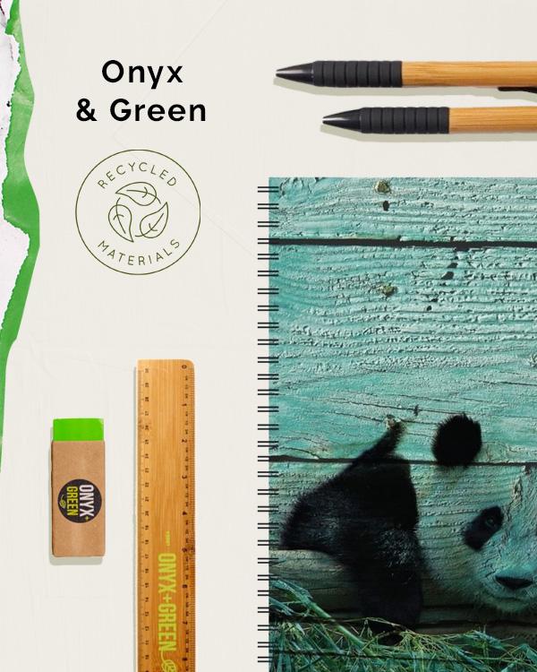 Onyx + Green