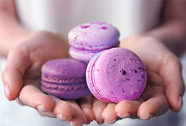 Make Your Own Lavender Macarons