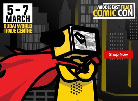 Comic Con Tickets