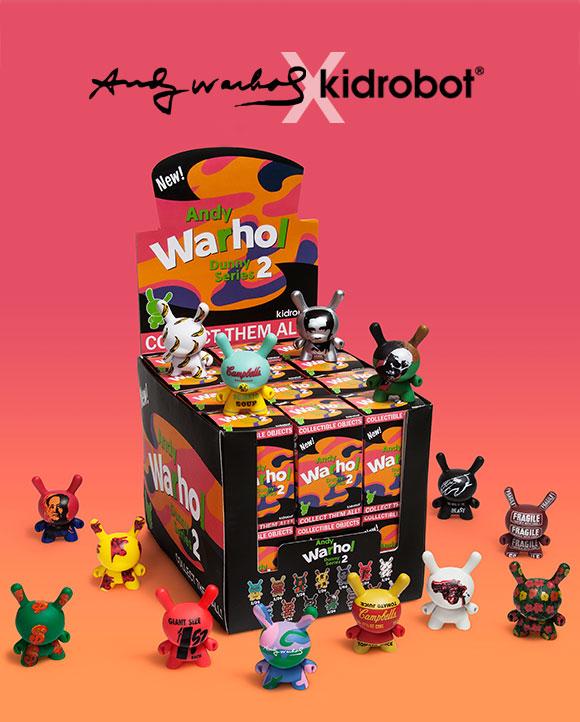 Andy Warhol x Kidrobot