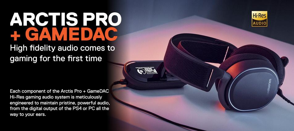 Arctis Pro & Gamedac