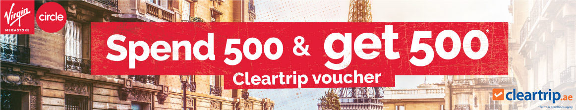 Travel voucher up to AED 1000 from Cleartrip