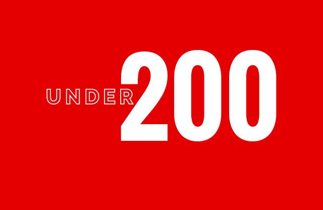 Under 200