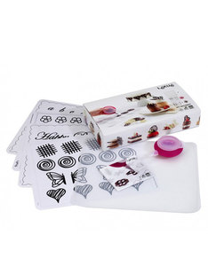 Lekue Decomat Chocolate Stencil Kit
