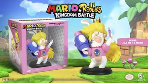Mario + Rabbids: Kingdom Battle - Rabbid Peach / Lapin Peach: 6 Inches Figurine