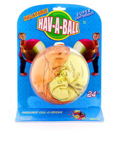 Toysmith Hav-A-Ball Inflatable Ball [24 inch]