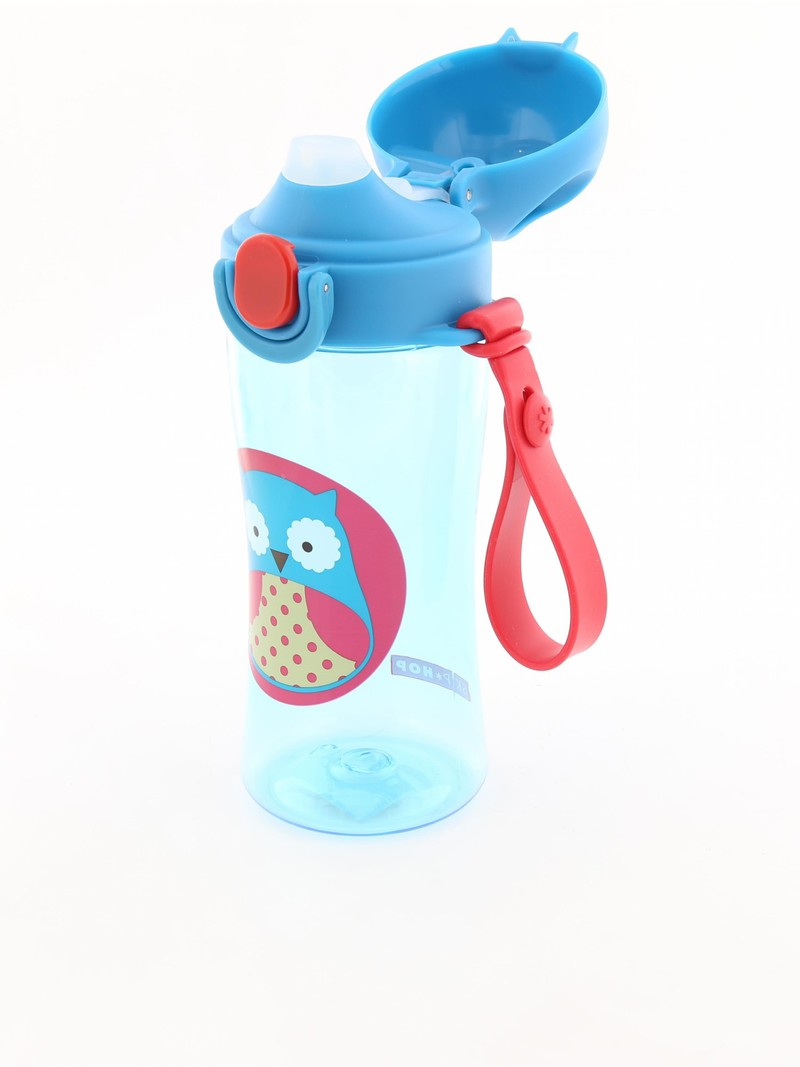 Skip Hop Zoo Sport Kids Water Bottle Owl 410Ml