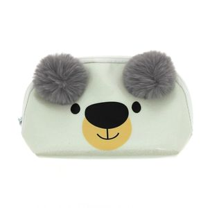 Happy Zoo Polar Bear Dome Pencil Case