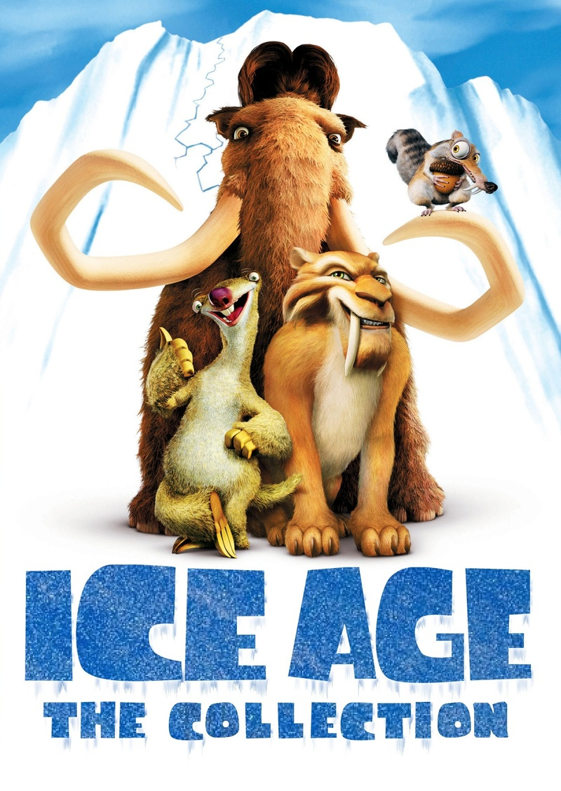 Ice Age A Mammoth Christmas.Ice Age 5 Film Collection A Mammoth Christmas 6 Disc Set