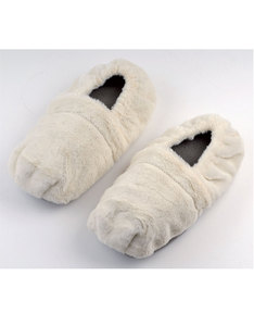 La Chaise Longue Thermal Lounge Slippers White