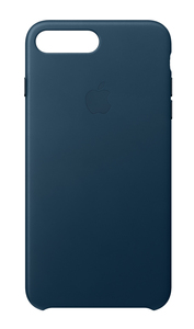 Apple Leather Case Cosmos Blue for iPhone 8 Plus/7 Plus