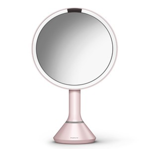 Simplehuman Sensor Touch Control Mirror Pink 20cm