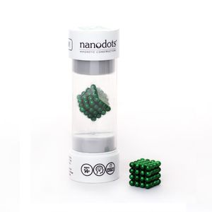 Nanodots 64 Green Magnetic Dots