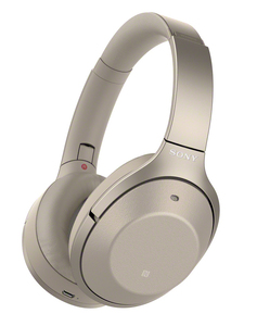 Sony WH-1000XM2 Cream Bluetooth Noise Cancelling On-Ear Headphones