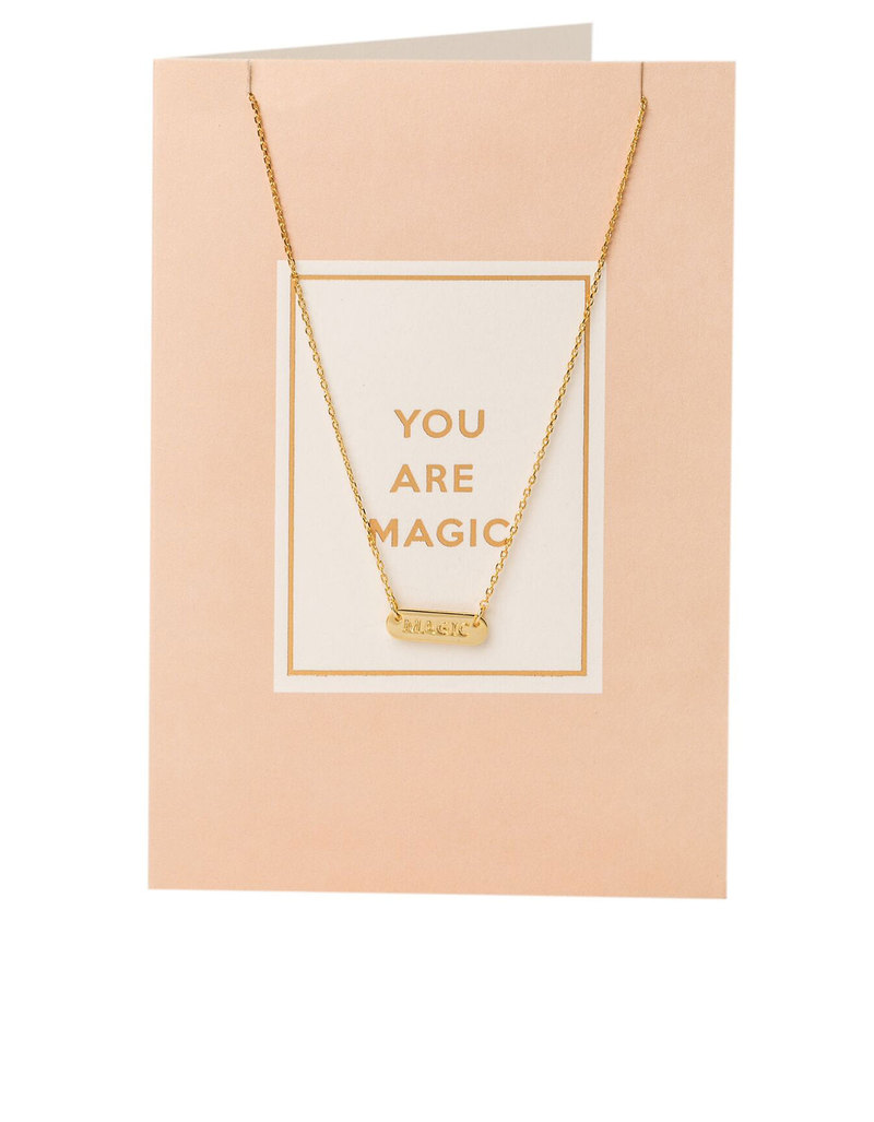 Orelia Gold Plated You Are Magic Necklace Gift Card | Necklaces ...